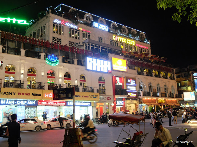 vue du vietnam rue nuit