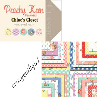Moda PEACHY KEEN FLANNELS Quilt Fabric by Chloe's Closet