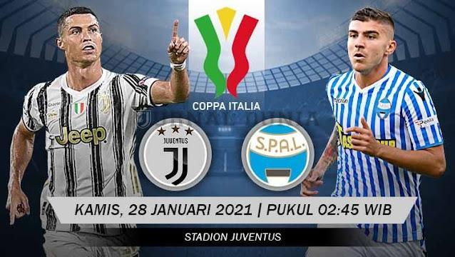 Prediksi Juventus Vs Spal 2013