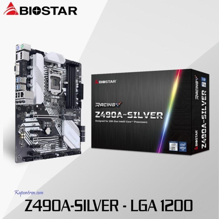 Biostar Z490A-SILVER Socket LGA 1200