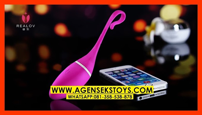 Mainan Dewasa Vibrator Getar Irena I Di Kontrol Dengan Aplikasi Smartphone