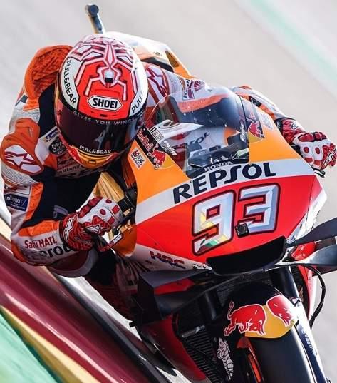 Marc Marquez Pole Position MotoGP Aragon 2019