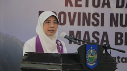 Bunda Niken Dilantik Jadi Ketua PPI NTB 2021-2026