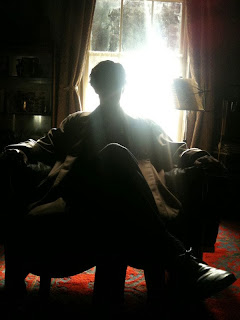 Benedict Cumberbatch as Sherlock Holmes in BBC Sherlock Christmas Episode Many Happy Returns Season 3 Prequel