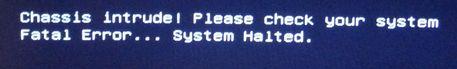 Fatal Error... System Halted.