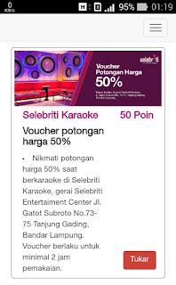 Voucher diskon karaoke