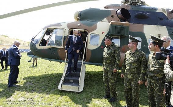 Pashinyan visitó Artsaj