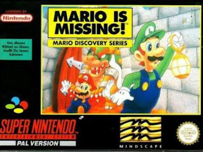 لعبة Mario is Missing!