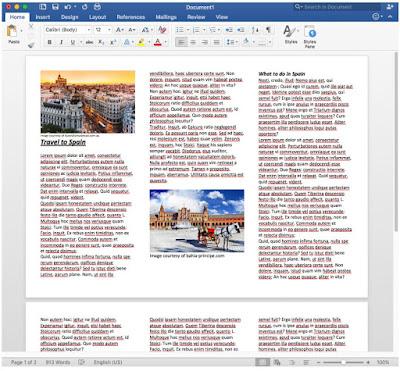 Cara Membuat Brosur dari Templat Word