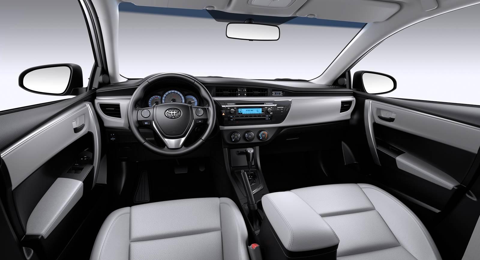 Novo Corolla 2016 interior