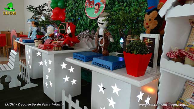 Decoração festa infantil Chapeuzinho Vermelho