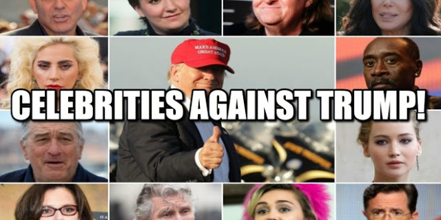 Celebrities To Trump: We Are Patriots,Love Our Country. Donald Trump Is The Worst President In U.S History And We Will Not Stop Until We Get Rid Of His Sh*thole President.'Do You Support Trump If He Deport All Of Them?