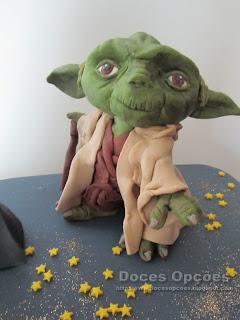 yoda star wars sugar paste