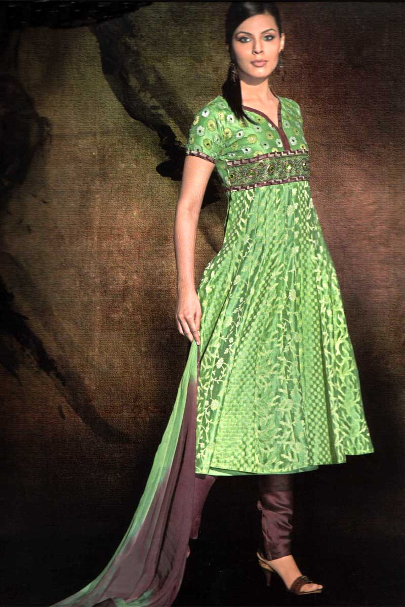 Latest Women Best Winter Dresses Designs Collection 2014 2015: Women Fashion Trends: Women New Churidar Salwar Kameez