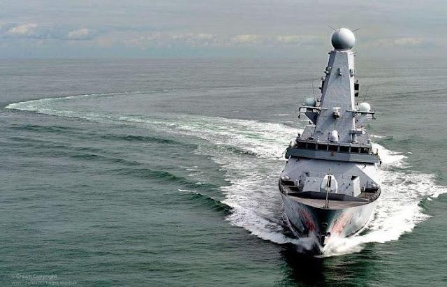 Kapal perusak kelas Daring Inggris