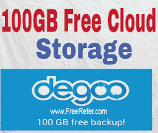 how to get 100 gb online cloud storage in hindi