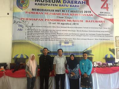 Dr. Phil. Ichwan Azhari  Tinjau Persiapan Pameran Sejarah Dan Kebudayaan Daerah Batubara