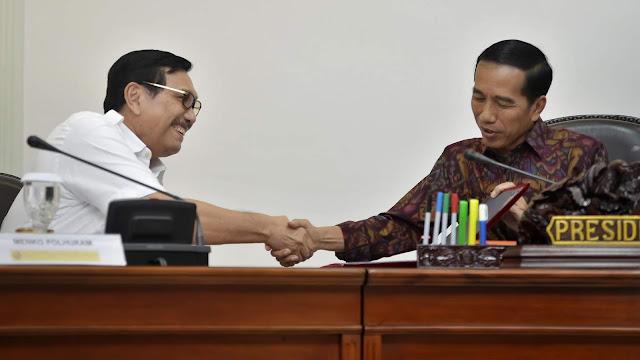 Pengamat: Jokowi, Presiden Rasa Luhut Pandjaitan