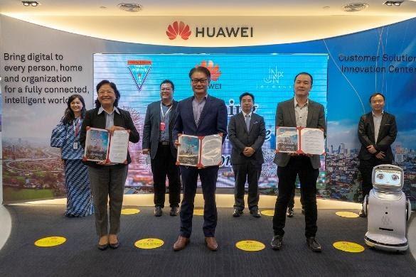 Huawei Jenexus Chong Hwa A.I MOU