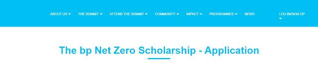 Bp Net Zero Scholarship for International Students in Germany 2020