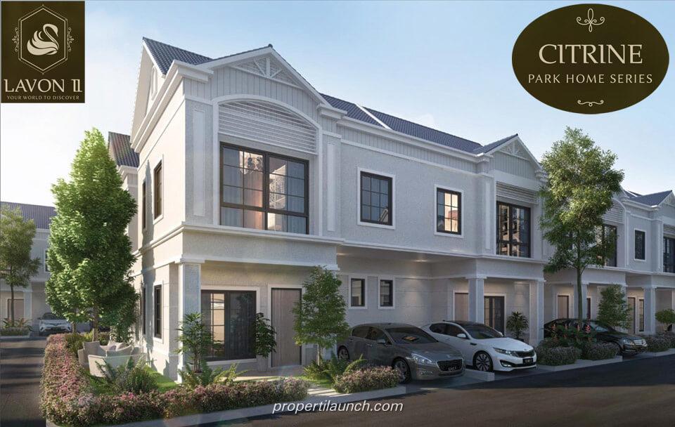 Dijual Rumah Cluster Citrine Lavon 2 Tangerang