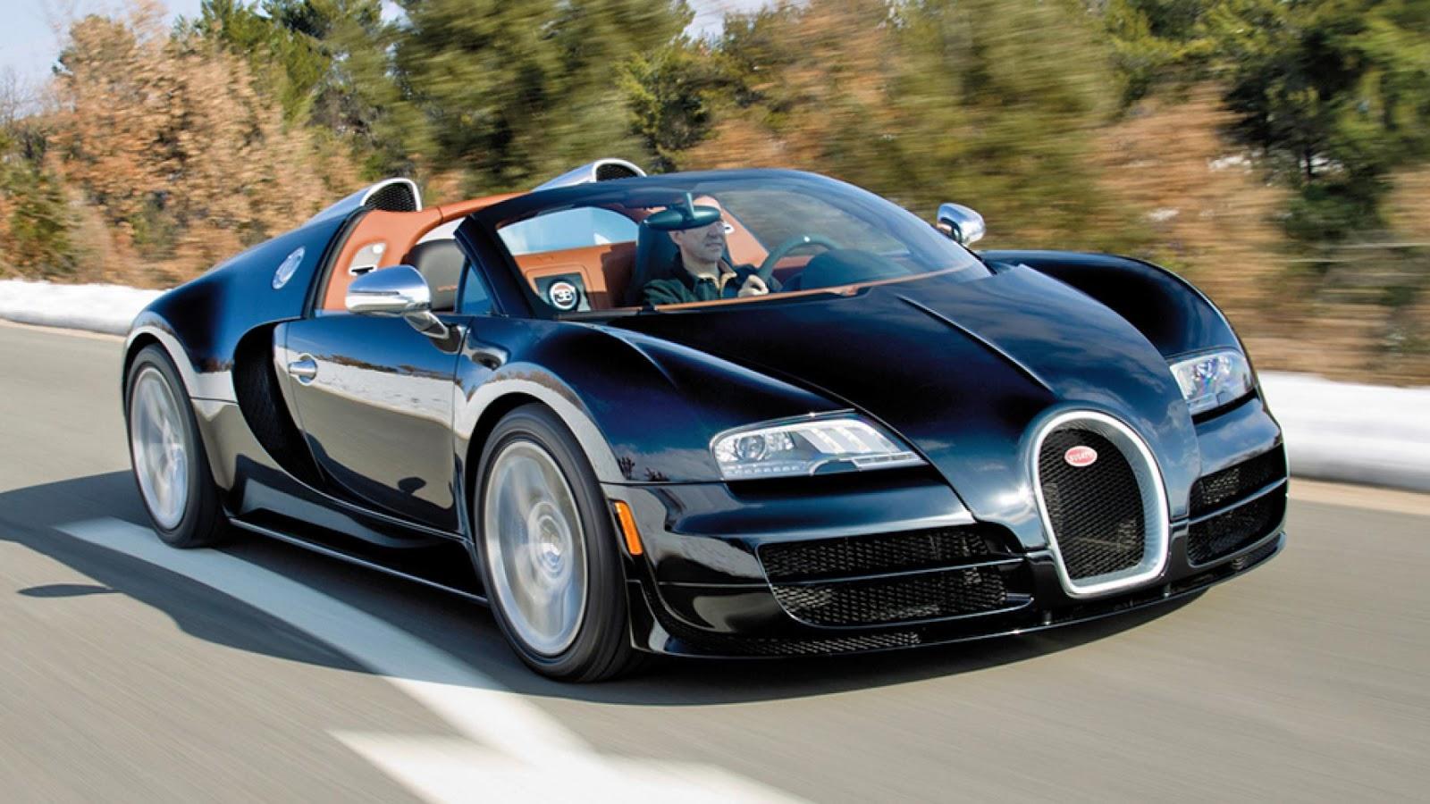 2: Bugatti Veyron Grand Sport Vitesse