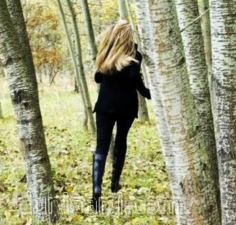 Lari ke hutan