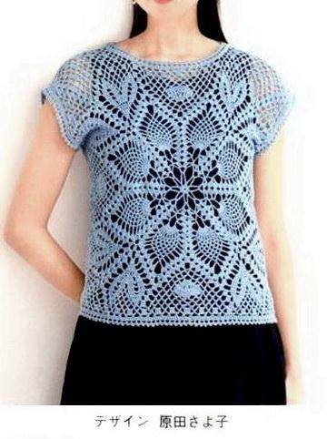 Crochet Pullover Sweater Pattern