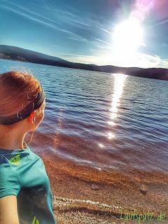 Talsperre Laufen Wasser Sonne