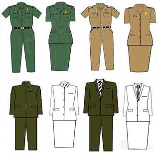 aturan mengenai seragam pns terbaru 2016