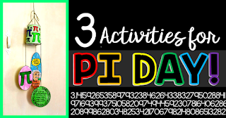 Looking for a fun math activity to celebrate Pi Day? In this post I share three Pi Day math activities and 10 fun Pi Day facts to share with students.