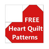 FREE HEART PATTERNS-HEART QUILT PATTERNS-FREE QUILT PATTERNS