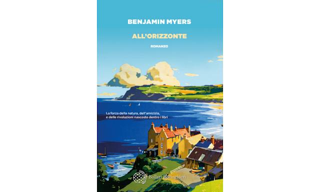 Benjamin Myers copertina di All'orizzonte