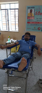 Jaipur News- एनिमिक महिलाओं व कैंसर पीड़ित महिलाओं के लिए मीना मां चैरिटेबल ट्रस्ट द्वारा स्वैच्छिक  रक्तदान शिविर आयोजित dr mahesh joshi मुख्य sachetk