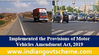 Motor Vehicles Amendment Act, 2019