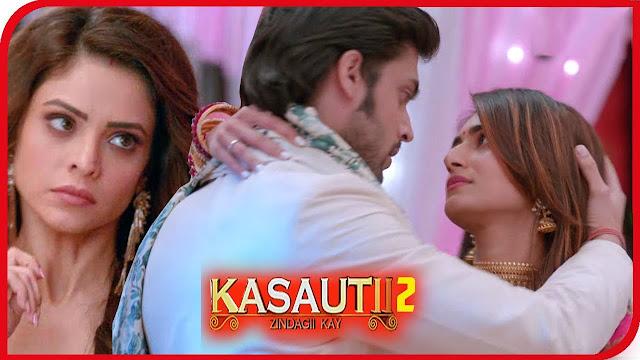 Finally Anurag express love feelings for Prerna Komolika shocked in Kasauti Zindagi Ki 2