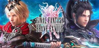 game anime offline terbaik Final Fantasy Brave Exvius