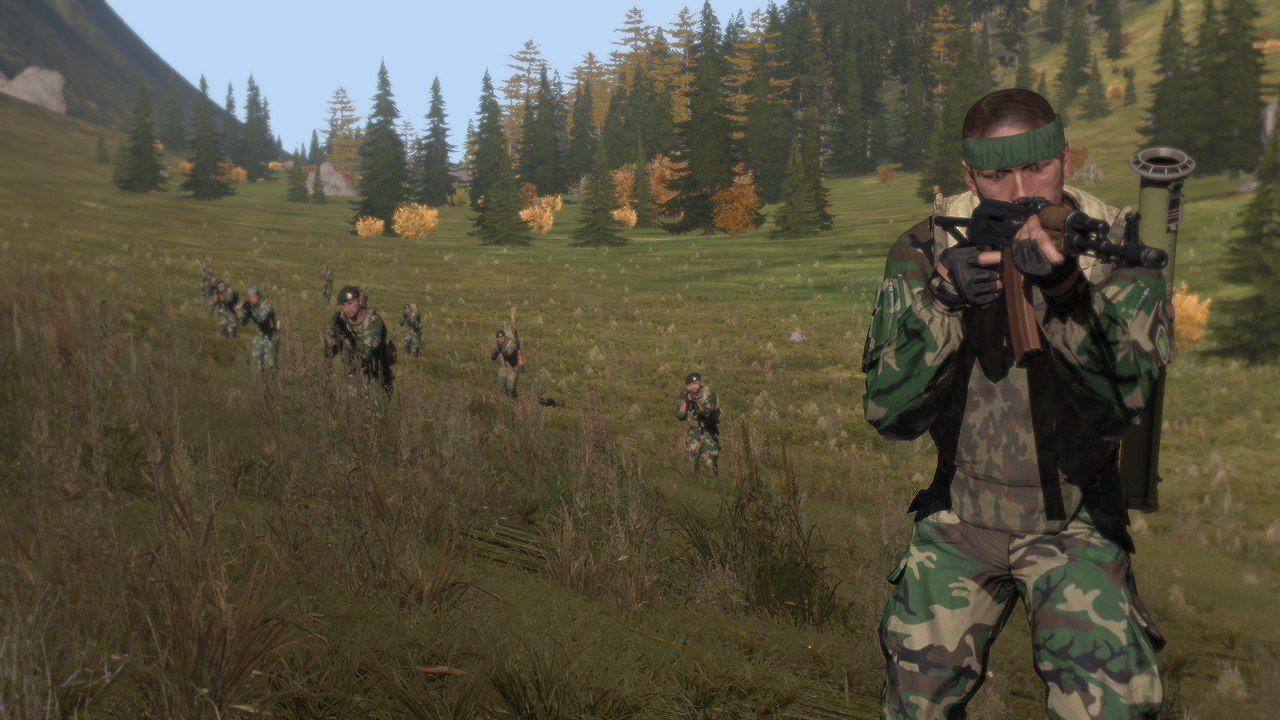弱者の日記^^30 以上の戦闘服がある Arma 3 用のチェチェン・イチケリア武装勢力アドオン