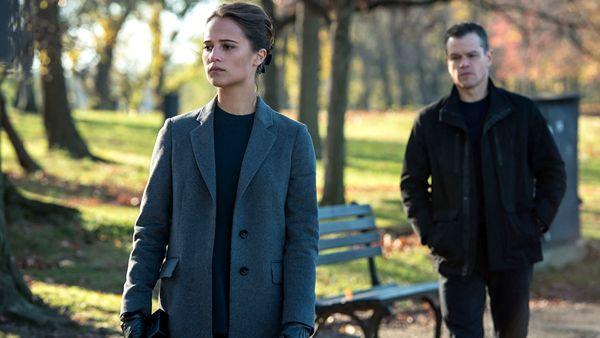 Alicia Vikander e Matt Damon- Jason Bourne  © Universal Pictures