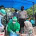 Polresta Banda Aceh Bersama IDI Aceh Lakukan Rapid Test di Ulee Lheue