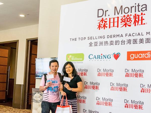 A Dr. Morita facial mask a day, keeps your ageing away