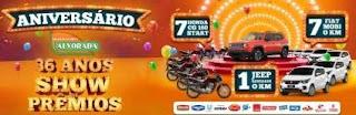 Promoção Alvorada Supermercados 2019 Aniversário 36 Anos Show de Prêmios
