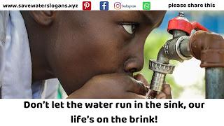 save water slogans 10