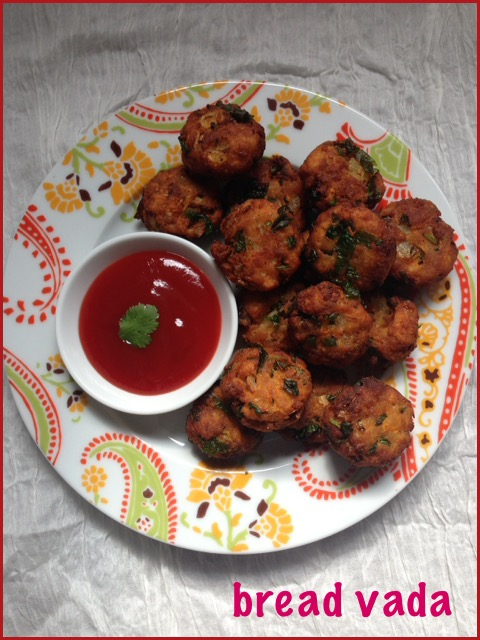 Bread Vada ( Mini version)