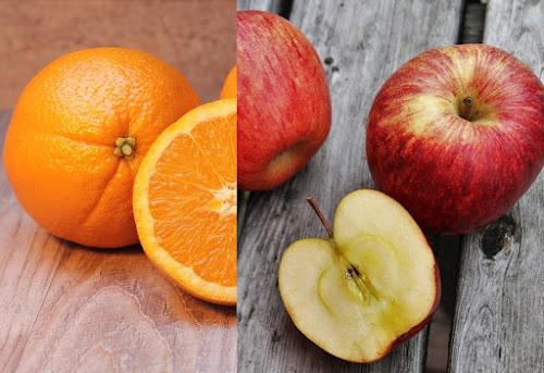 Comparando maçãs com laranjas