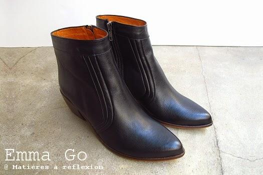 Boots Emma Go retro seventies : les boots eaglewood