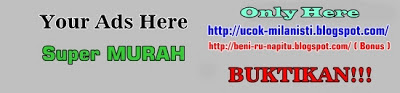 Jasa Pasang Iklan Teks & Banner Super Murah Blog