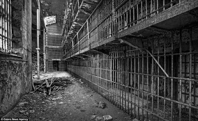 Abandoned prison cells USA