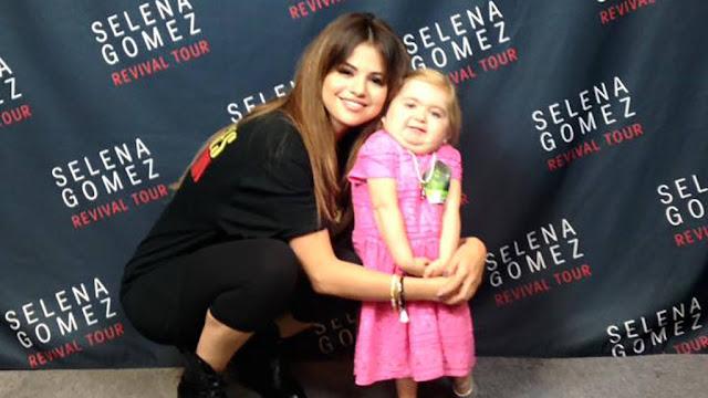 Selena Gómez por fin conoce y baila con Audrey Nethery, niña de 6 años con leucemia (VIDEO)