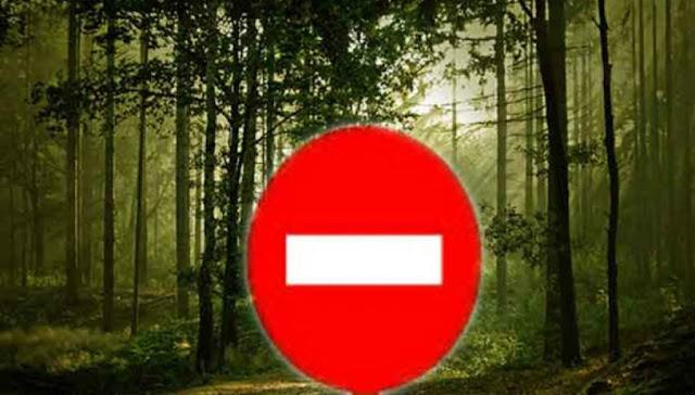Απαγόρευση κυκλοφορίας οχημάτων και η παραμονή εκδρομέων στους εθνικούς δρυμούς και δάση της Αργολίδας